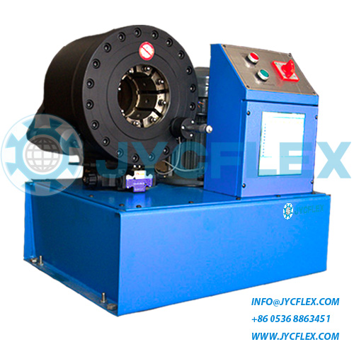 used hose crimping machine