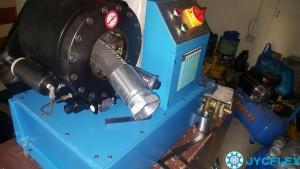 About hose crimping machine
