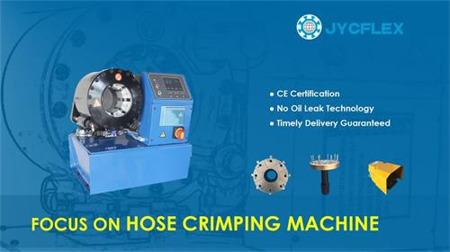 Hose crimping machine China